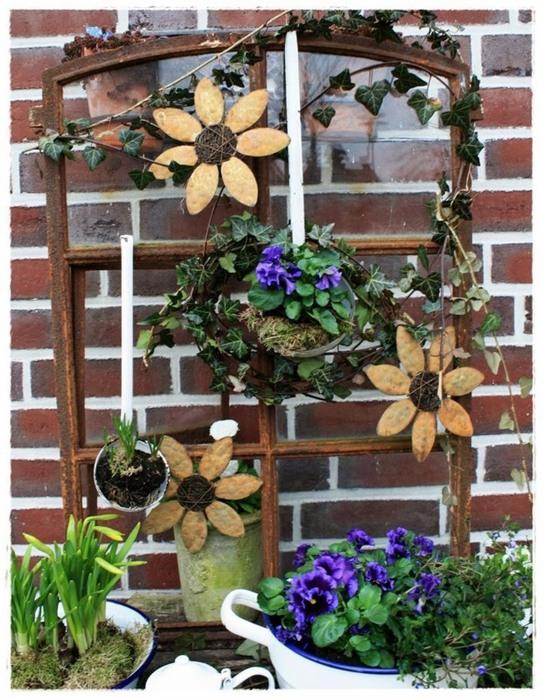 Идея для декора сада фото