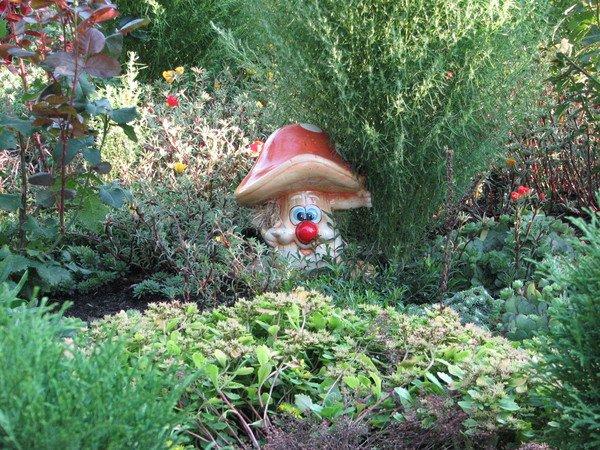 Фигурки для сада и дачи своими руками